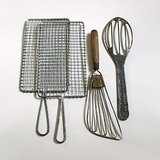 VTG KITCHEN TOOLS: 2 GRATERS, 2 WHIPS LOT(4 pcs) in St. Charles, Illinois