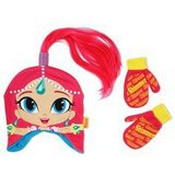 Disney Shimmer and Shine ponytail Hat and Mitten Set in Spring, Texas
