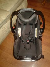 carseat plus stroller black and gray in Warner Robins, Georgia