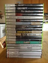 X box 360 games in 29 Palms, California