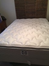 Queen size pillow top mattress and box spring in Fort Rucker, Alabama