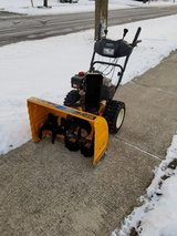 "28"" Cubcadet Snowblower with electric start in Westmont, Illinois"