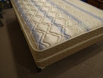 Sealy Posturepedic Queen mattress, box spring and frame in Huntsville, Texas