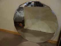 Antique 16 sided beveled MIRROR in Conroe, Texas