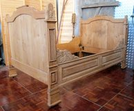 Early 1800s Country Style Full Size Bed Frame in Ramstein, Germany