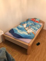 Single bed with mattress in Stuttgart, GE