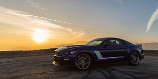 ROUSH MUSTANG CONVERTIBLES in Hohenfels, Germany