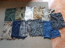 11 pairs boys size 12 shorts including brands like Arizona, Shaun White, Old Navy, and Talbots in Ramstein, Germany