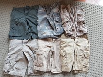 6 pairs boys size 10 shorts including Buzz Cuts, Old Navy, Arizona, Faded Glory, and Urban Pipeline in Ramstein, Germany