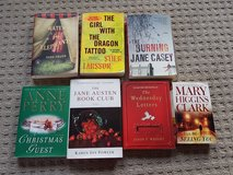 set of 7 adult fiction books in Ramstein, Germany