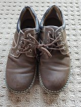 2 pairs boys size 5 dress shoes in Ramstein, Germany