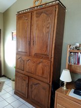 Wall Cabinet with Fold Down Desk in Fort Leonard Wood, Missouri