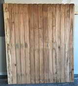 "6 ft. H x 62"" W Pressure-Treated 4 in. Dog-Ear Fence Panel - $10 (Byron) in Warner Robins, Georgia"