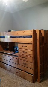 Bunk beds in Fort Polk, Louisiana