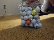 Golf balls and tee's in Travis AFB, California