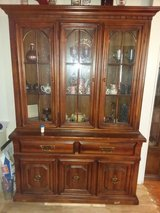 China cabinet in Lawton, Oklahoma