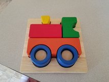 Guidecraft Primary Train Puzzle in Fort Riley, Kansas