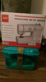 REDUCED! AEG Sewing Machine in Ramstein, Germany