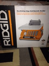 Ridgid Oscillating Edge Belt/Spindle Sander in Byron, Georgia