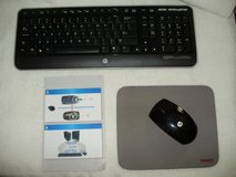 HP Wireless Keyboard & mouse in Camp Lejeune, North Carolina