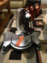 Ridgid 12in Dual Bevel Miter Saw in Byron, Georgia