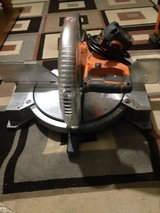 Ridgid 10in Dual Bevel Miter Saw in Byron, Georgia