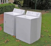 Washer and Dryer GE Set Large tub-Super Reliable And Guaranteed in Byron, Georgia