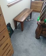 2 solid wood benches in Alamogordo, New Mexico