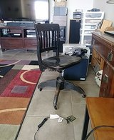 solid wood antique office chair in Alamogordo, New Mexico