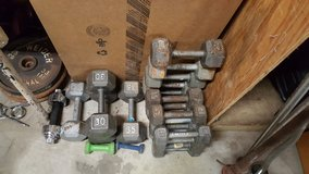 Steel & Plastic Plate Weights, Dumbells, Bars in Hopkinsville, Kentucky
