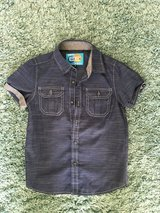 Boys button up s/s size 4 in Plainfield, Illinois