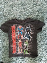 Size 5 justice league tee in Plainfield, Illinois