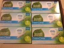 12 new boxes Seventh Generation free and clear tampons in Oswego, Illinois