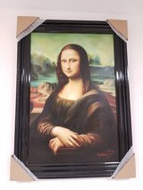 Mona Lisa oil painting in Hohenfels, Germany