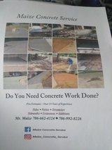 do you need concrete work done? in Fort Benning, Georgia