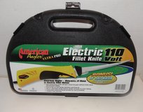 """American Angler Ultra Pro Electric 8"""" Fillet Knife w/ 10"""" Saltwater Blade 110V in Conroe, Texas"""