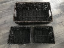 Set of 3 baskets in Travis AFB, California