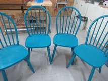 4 Wood chairs in Alamogordo, New Mexico