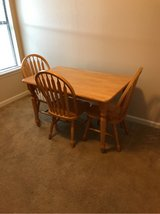 kitchen table and three chairs in Fort Polk, Louisiana