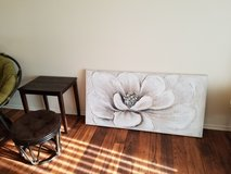 Large floral painting in Camp Pendleton, California