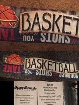 7x SPORTS themed WALL Decor in Baytown, Texas