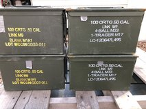 50 cal ammo cans(Reduced) in Fort Polk, Louisiana