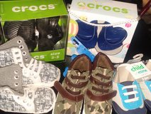 Infant shoes 2 Crocs 1 Roca 3 other in Beaufort, South Carolina
