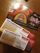 4 tickets to Chicago Laugh Factory in Aurora, Illinois