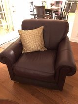 Oversized Lazy Boy, Wine Colored Chair in Fort Campbell, Kentucky