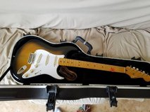 Squire Classic Vibe 50's Stratocaster & SKB Case in Okinawa, Japan