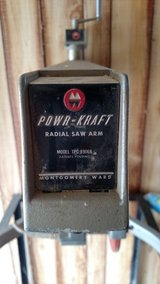 Powr-Kraft Radial Arm Saw in Fort Riley, Kansas