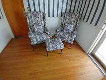 2 Chairs and Foot Stool in Fort Campbell, Kentucky