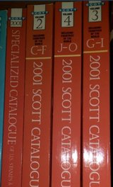 Scott Postage Stamp Catalogues 2001 (partial set) in Kingwood, Texas