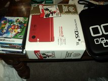Nintendo DS XL with 6 games and other accessories in Lawton, Oklahoma